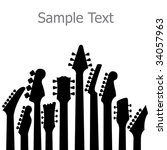 A Music  Vector Background Wit...