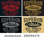 superior vector print and...   Shutterstock .eps vector #340594175