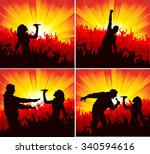 poster for concerts | Shutterstock .eps vector #340594616
