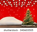 3d rendered christmas... | Shutterstock . vector #340603505