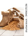 Photo Of Wheat Grains And Flou...
