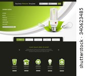 eco modern clean business...