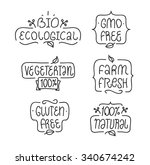vegeterian  bio ecological  gmo ...