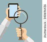 flat design retro style icon... | Shutterstock . vector #340696436