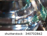 Thick Glass Abstraction Made...
