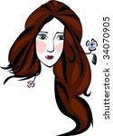flora | Shutterstock .eps vector #34070905