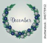december   holiday season  ... | Shutterstock .eps vector #340775912