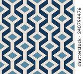 geometric vector pattern in... | Shutterstock .eps vector #340794476