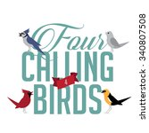 Four Calling Birds Eps 10...