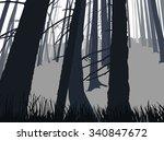 image landscape. eco banner.... | Shutterstock . vector #340847672