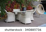 Wicker Furniture On The...