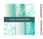 set of vector geometric...   Shutterstock .eps vector #340920422