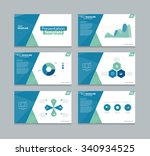 vector  presentation template... | Shutterstock .eps vector #340934525