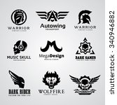 logo collection set automotive... | Shutterstock .eps vector #340946882