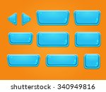 set of buttons  bright...   Shutterstock .eps vector #340949816