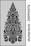 traditional indian motif | Shutterstock .eps vector #340954376