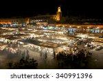 marrakesh  morocco  nov 15 ... | Shutterstock . vector #340991396