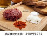 Steak Tartar With The Fried...