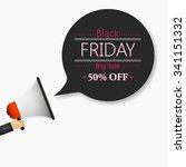 black friday | Shutterstock .eps vector #341151332