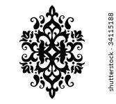 black white   Shutterstock .eps vector #34115188