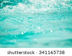 bokeh light background in the... | Shutterstock . vector #341165738