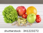 nutritional supplement. | Shutterstock . vector #341223272