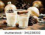 Eggnog With Milk  Cinnamon ...