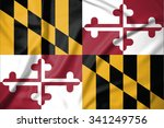 flag of maryland state of... | Shutterstock . vector #341249756