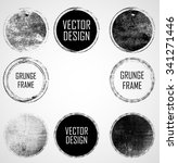 vector circle shapes collection ... | Shutterstock .eps vector #341271446