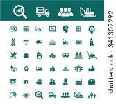 industrial business  factory ... | Shutterstock .eps vector #341302292