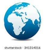 africa  middle east  arabia and ... | Shutterstock .eps vector #341314016