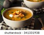 homemade hot butternut squash...   Shutterstock . vector #341331938