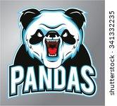 pandas mascot   Shutterstock . vector #341332235
