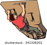 Climbing Wall Vector...