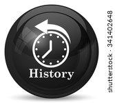 history icon. internet button... | Shutterstock . vector #341402648