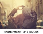 Stock photo couple in love 341409005