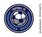 soccer logo emblem | Shutterstock .eps vector #341416676