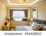 interior of bedroom | Shutterstock . vector #341428022