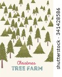 Christmas Tree Farm Vector...
