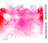 abstract watercolor painting... | Shutterstock . vector #341447315