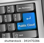keyboard illustration with... | Shutterstock . vector #341470286