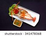 Grilled Giant River Prawn  Top...