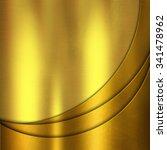 gold metal texture  | Shutterstock . vector #341478962