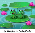 Frog In The Pond And The...