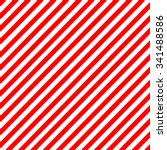 Diagonal Stripe Red White...
