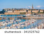 Yacht Harbour And Walled City...