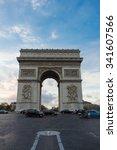 paris   france november 18 ... | Shutterstock . vector #341607566