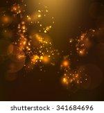 golden light background | Shutterstock .eps vector #341684696