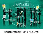 analysis strategy study... | Shutterstock . vector #341716295