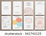 corporate identity vector...   Shutterstock .eps vector #341742125